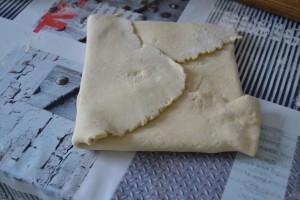 Beurre totalement enfermé dans la pâte