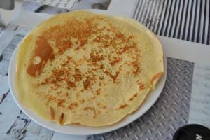 Dessous du pancake