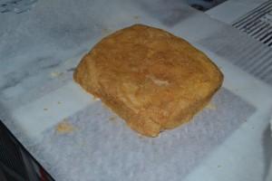Carré de beurre sucré