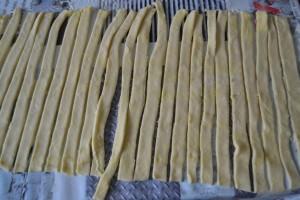 Bande de pâte de 1,5 cm