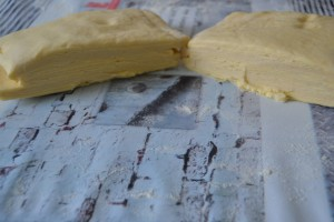 pâte coupée en 2