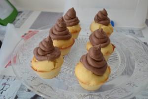 Cupcakes glaçage au cacao