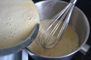 Mélange remi en casserole