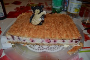 Decoration kong pour gâteau d'anniversaire
