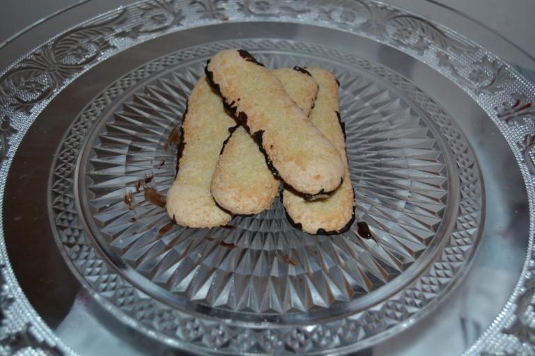Biscuits doigts de dames