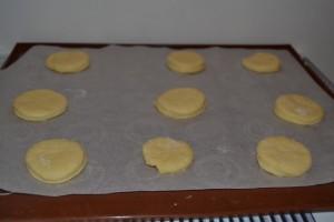 diques de pâte 1cm d'epaisseur