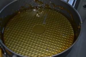 moule nappé de caramel