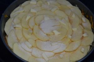 beurre, sucre vanillé et jus de citron ajouter