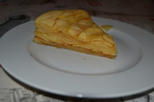 part de tarte tatin