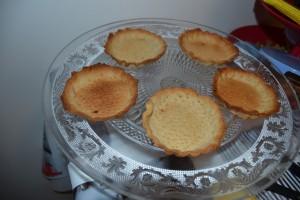 tartelettes cuites