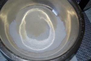 farine et sucre glace tamiser