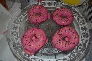 donut parsemer de vermicelles chocolat