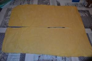 rectangle couper en 2 bandes dans la longueur