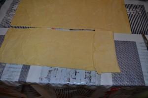 bande plier sur elle même 1 plis