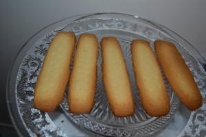 Biscuits shortbread cuit