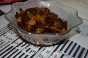 raisins macérés au rhum brun
