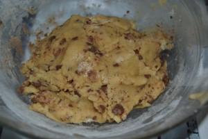 Boule de pâte à cookies