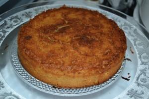 gâteau moelleux vanille