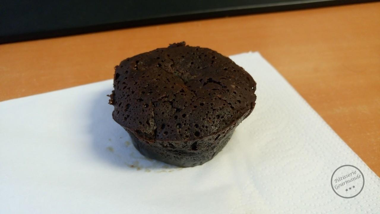 Fondant Chocolat Cœur Coulant Caramel Patisserie Gourmande