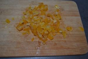 citron confit hacher