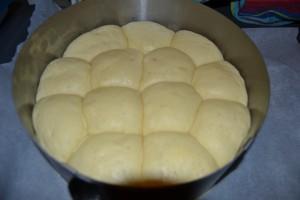 boules de pâte doubler de volume