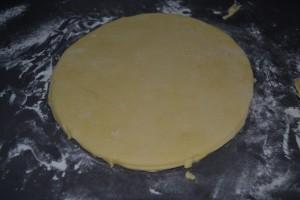 disque de pâte brioche 24cm
