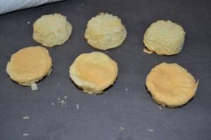 biscuits génoise démouler