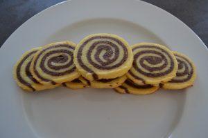 sablés spirales