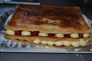dernier rectangle de pâte poser