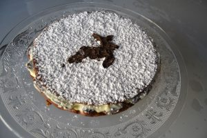 cake vanille - noisette