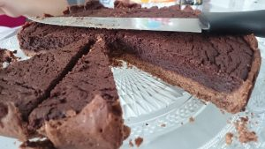tarte mousse chocolat