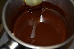 beurre et chocolat fondu