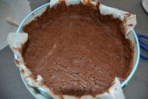 pâte sucrée chocolat piquer