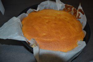 gâteau cuit