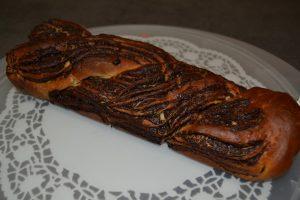 brioche cuite brune et doré