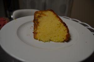 cake orange et citron confits