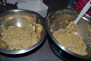 pâte séparer en 2