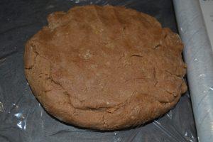 pâte homogène