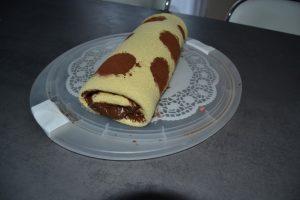 biscuit roulé chocolat