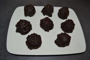 rochers chocolat et praliné