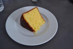 part de gâteau battu