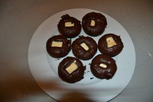 petits gâteaux au 2 chocolats
