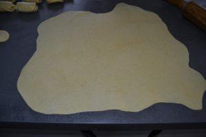 pâte à brioche étaler