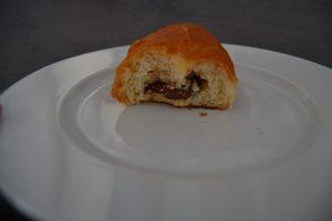 petits pains au lait fourrés chocolat
