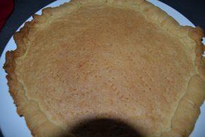 pâte sucrée dorée