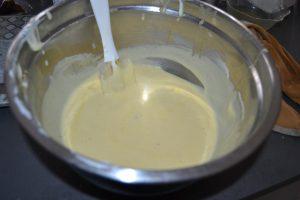 mélange raisins secs et fromage blanc
