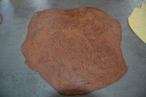 pâte étaler en disque