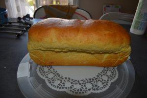 pain gâteau doré