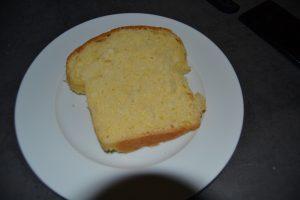 tranche de pain gâteau