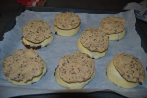 cookies poser sur les buns